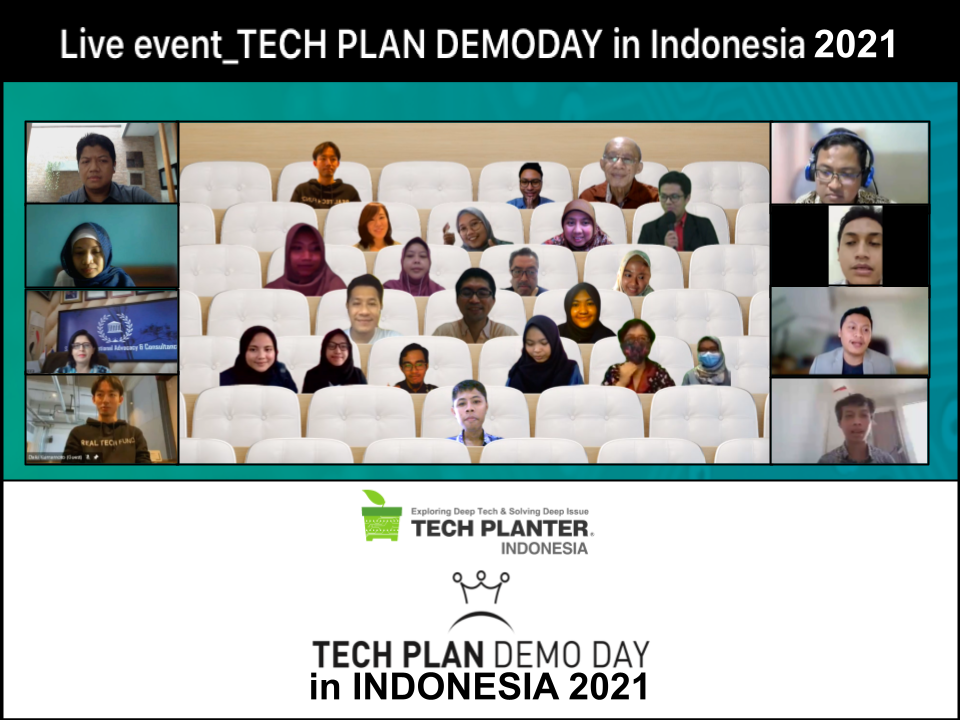 BIERGO Crowned as the Grand Winner of TECH PLAN DEMO DAY in INDONESIA 2021
