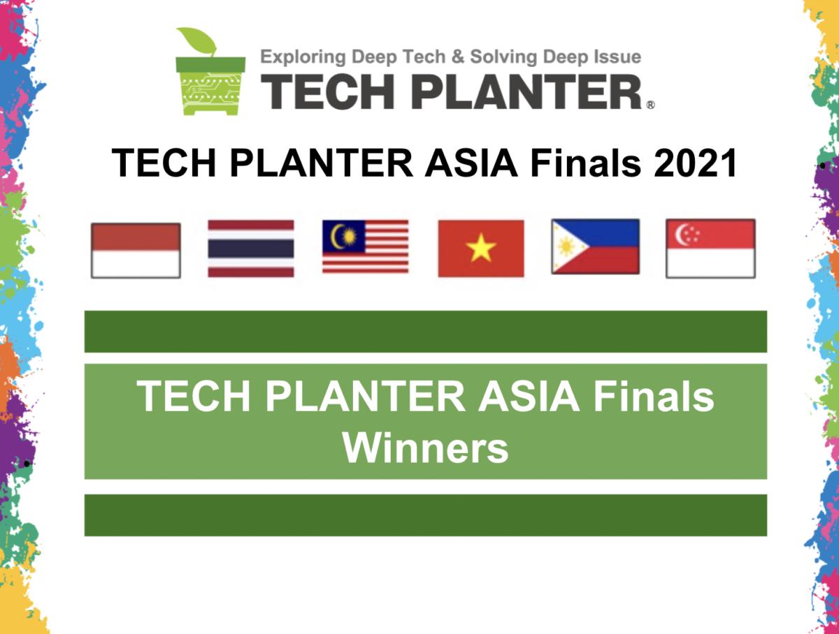 Qarbotech Crowned as TECH PLANTER Asia Finals 2021's GRAND WINNER