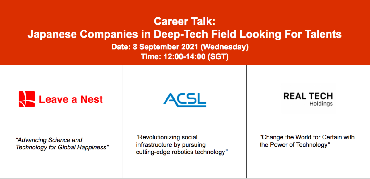 Career Talk: Find Out What It's Like To Work With Innovative Ecosystem Players From Japan