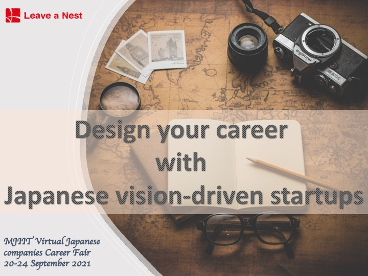 Dr. Kihoko Tokue, co-founder of Leave a Nest Malaysia will be giving career design talks